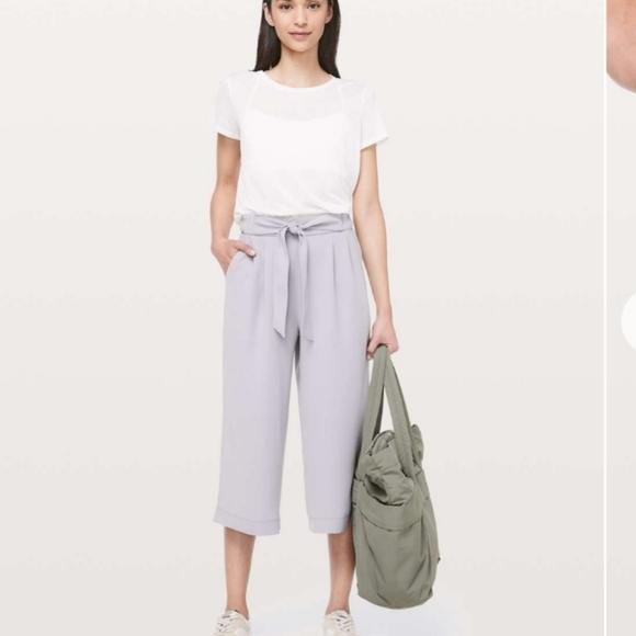 Lululemon Noir Crop Pants
